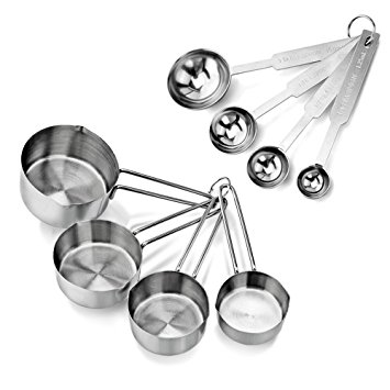 355x355 New Star Foodservice 42917 Stainless Steel 4pcs