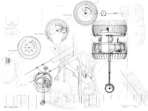 500x375 Drawing Architecture Zoetrope + Cable Car + Contour Measuring +