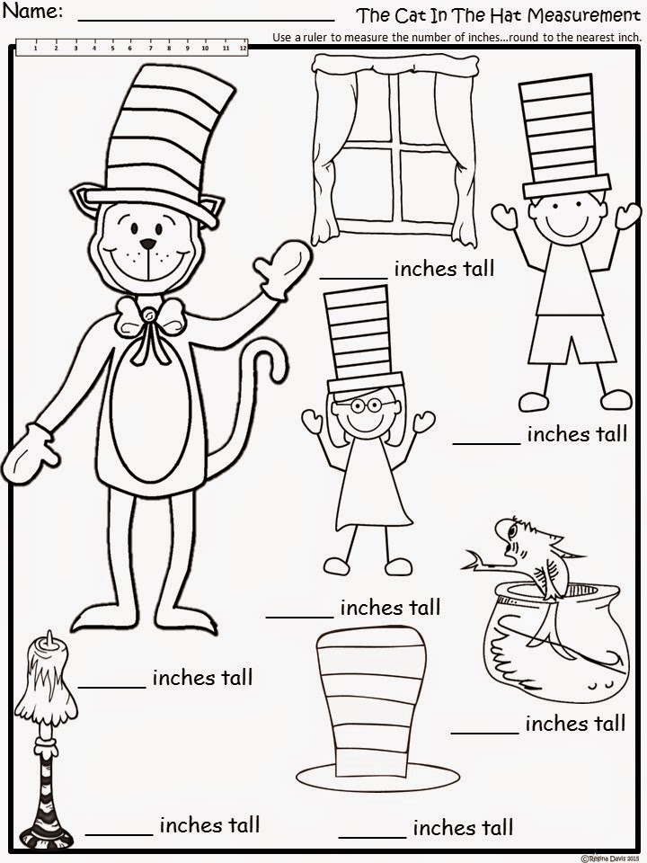 720x960 Free The Cat In The Hat Measurement. For Educational Purposes