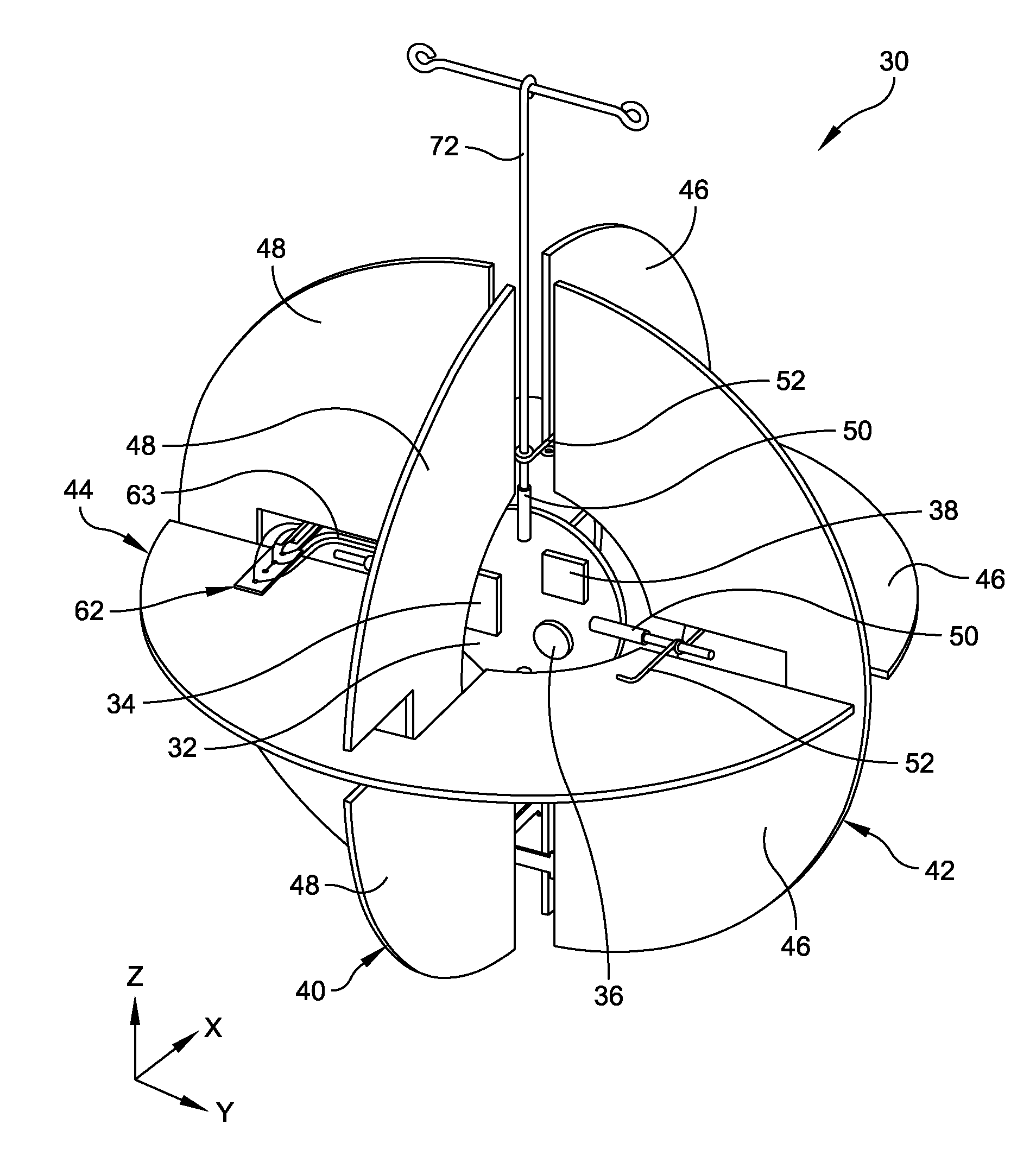1908x2129 Patent Us8407004 Airflow Detector And Method Of Measuring Drawing