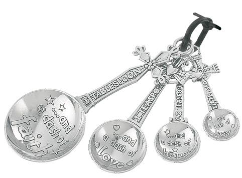 482x355 Ganz Cross Measuring Spoons, A Dash Of Faith Hearts Desire Gifts