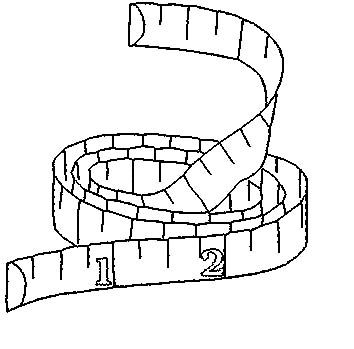354x349 Image Result For Outline Of Tape Measure Picky Eaters Option1