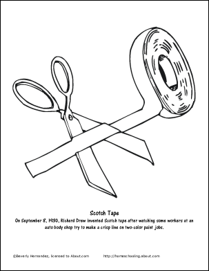 303x392 Tape Measure Coloring Pages