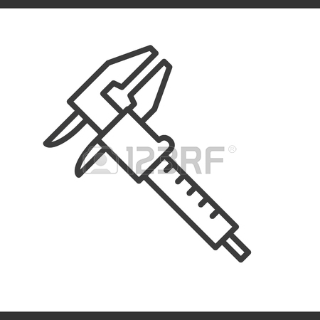 450x450 Drawing And Measuring Rulers Icon. Drop Shadow Silhouette Symbol