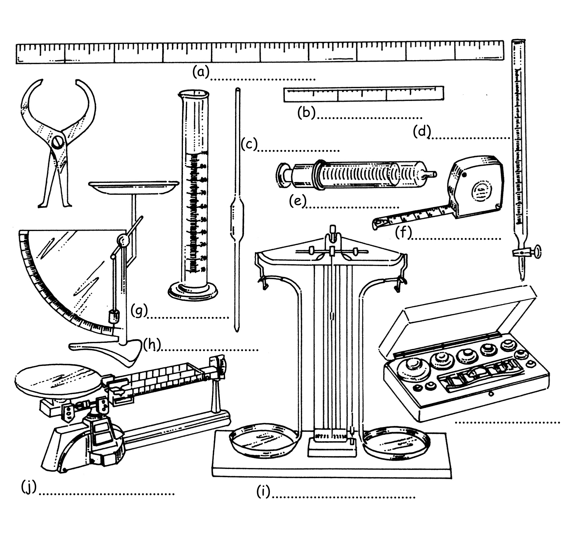 measuring tools drawing at getdrawings com