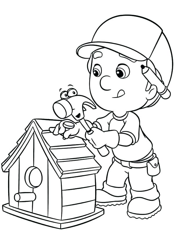 600x833 Mechanic Coloring Pages Tools Coloring Pages Construction Tools