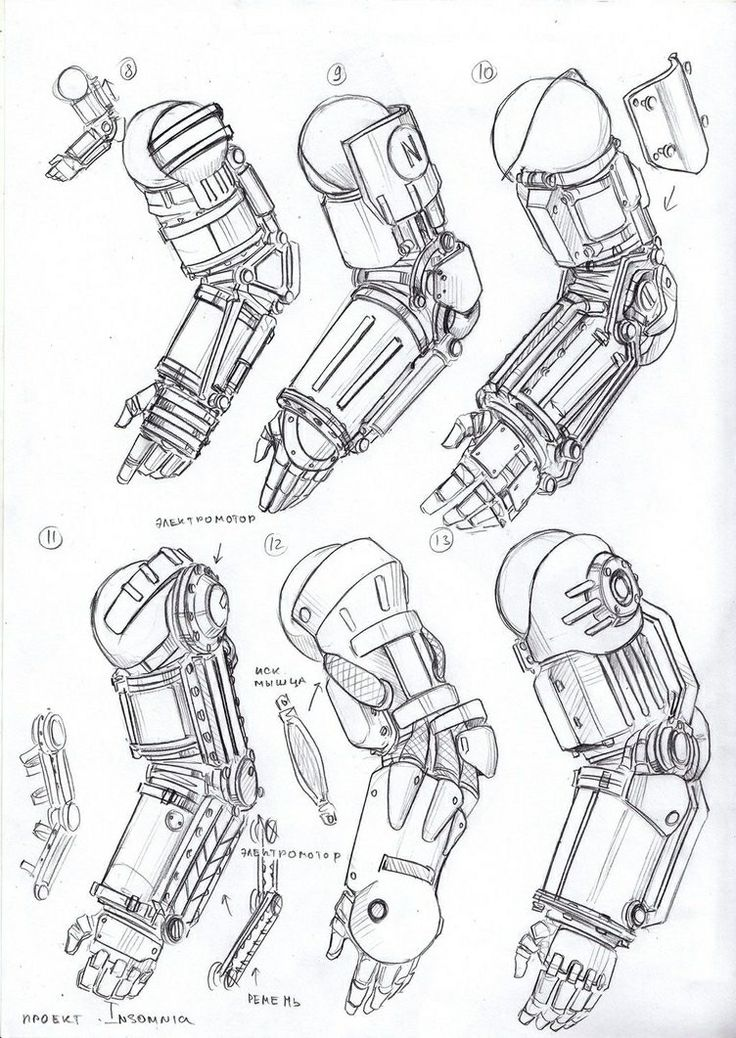 Mechanical Arm Drawing