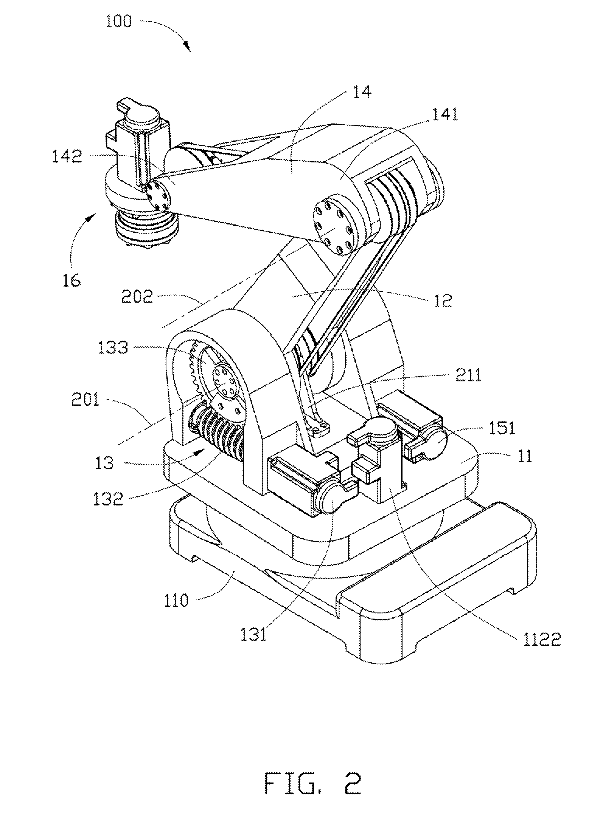 2005x2693 Patent Us20120048047 Robot Arm System Google Patents Drawing