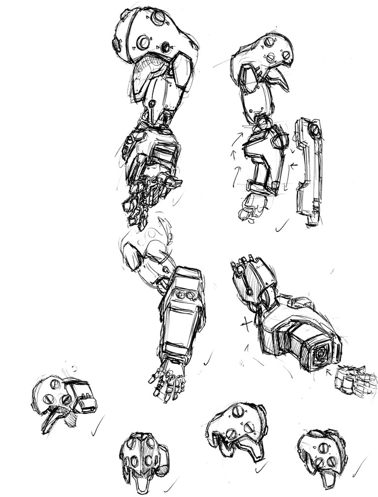 768x1009 Robot Arm Drawing