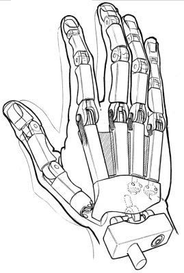 269x398 Robot Hand Things I Wanna Draw Robot Hand, Robot