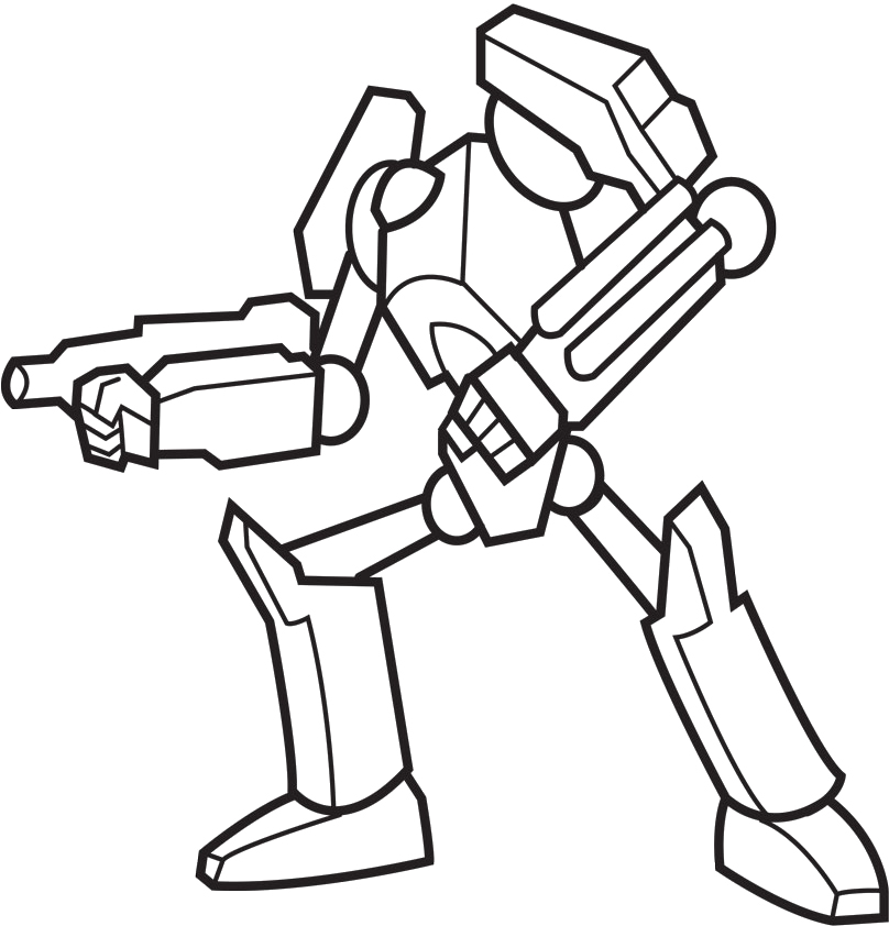 808x842 Coloring Pages Draw Robots Mechanical Robots Coloring Pages Robot