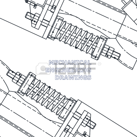 450x450 Mechanical Engineering The Drawing. Technical Illustrations
