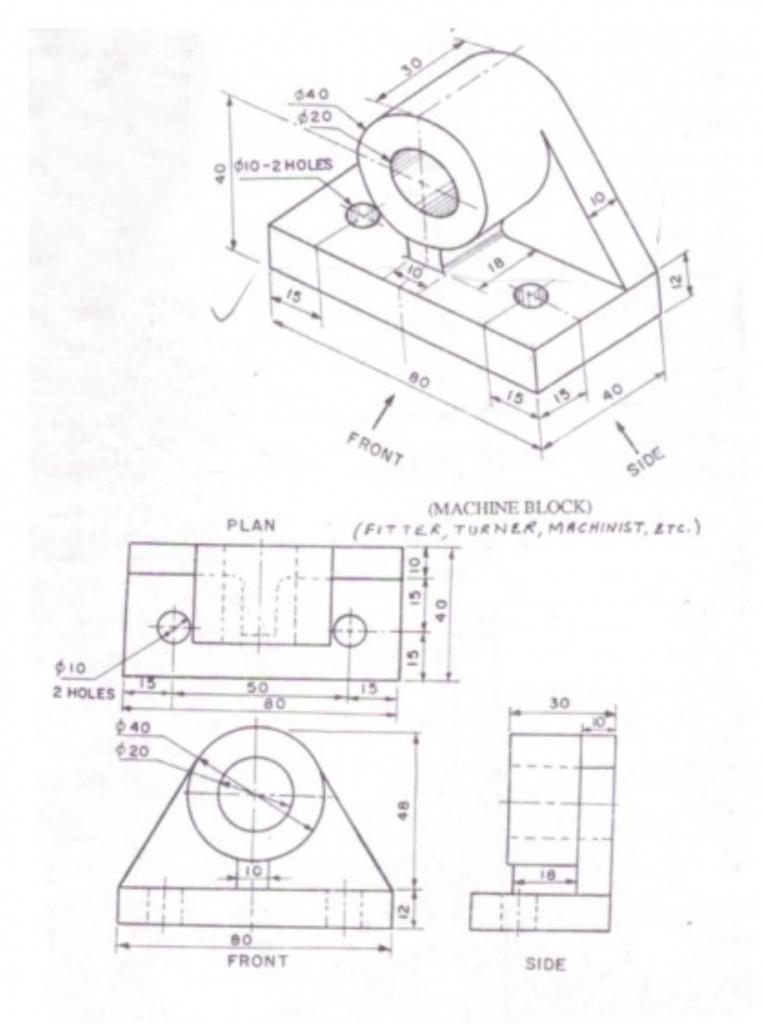 763x1024 3d Mechanical Drawing