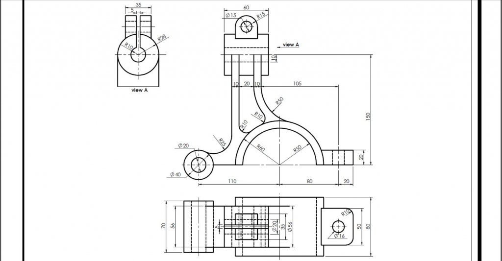 Solidworks Engineering Drawing at GetDrawings com | Free for