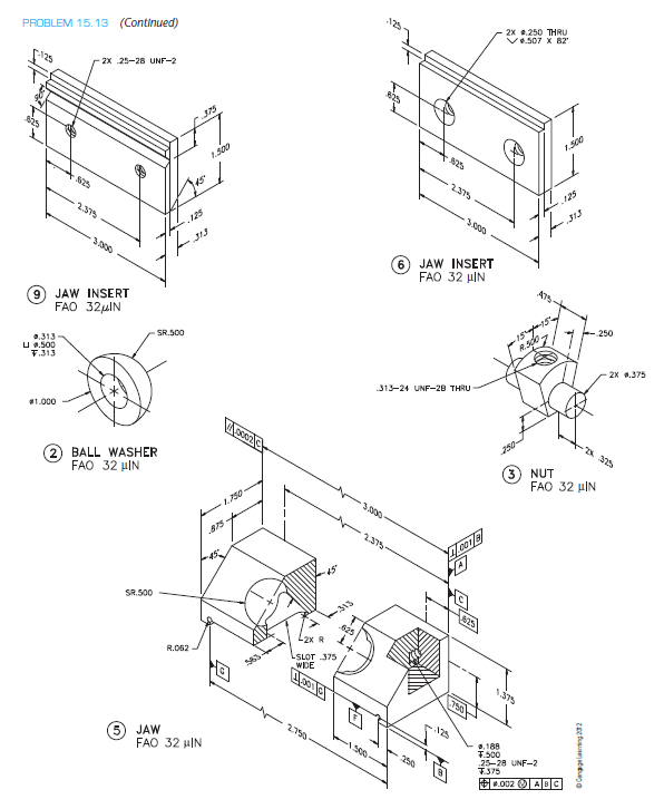 596x726 Working Drawing (In.) Assembly Name Precision Vise