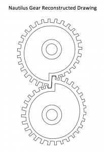 205x300 2d Drawing Of Rack And Pinion (Mechanical Movement