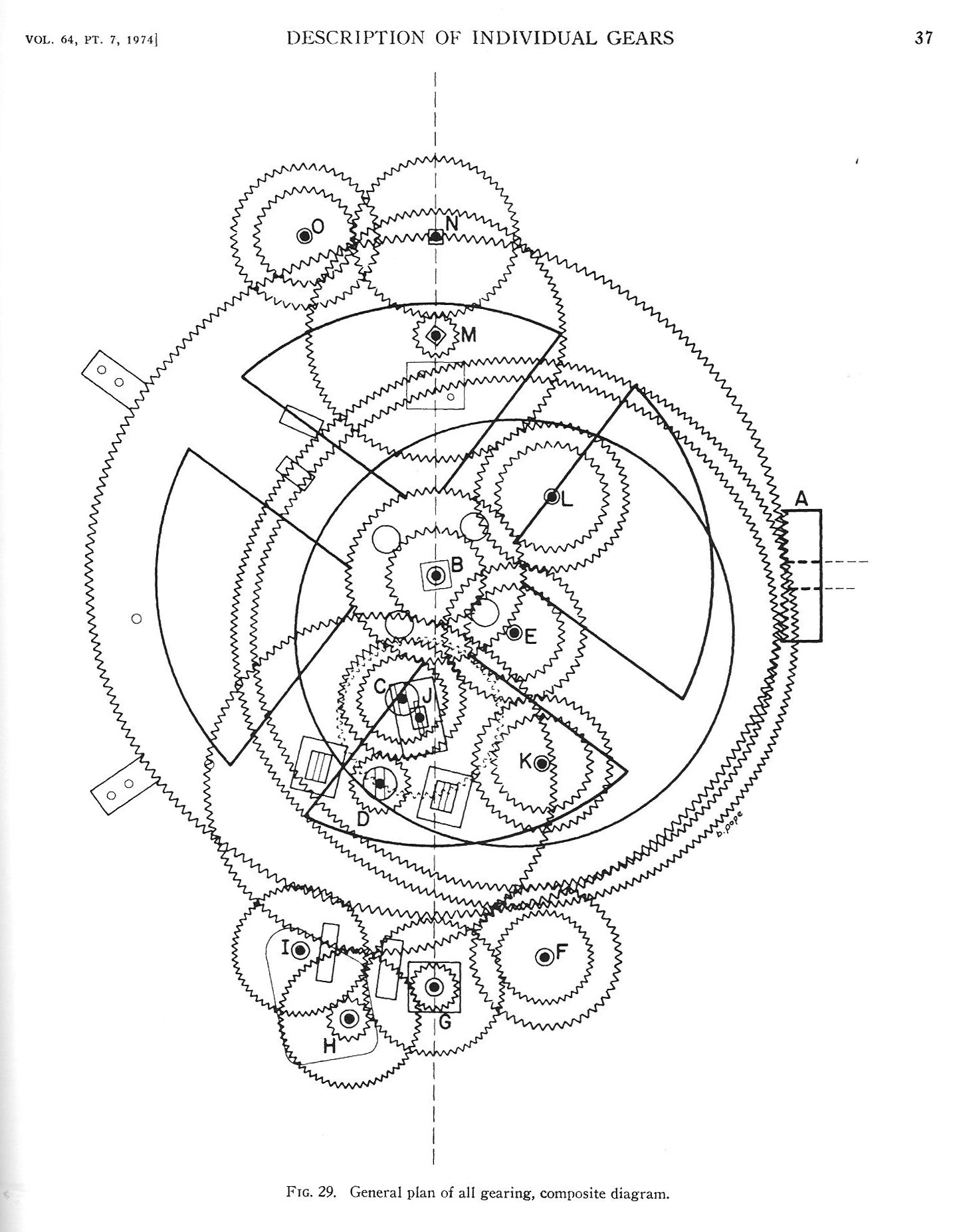 Mechanical Gears Drawing At Free For Personal Use Western Plow Wiring Diagram 1437x1854 The Antikythera Mechanism Hackaday