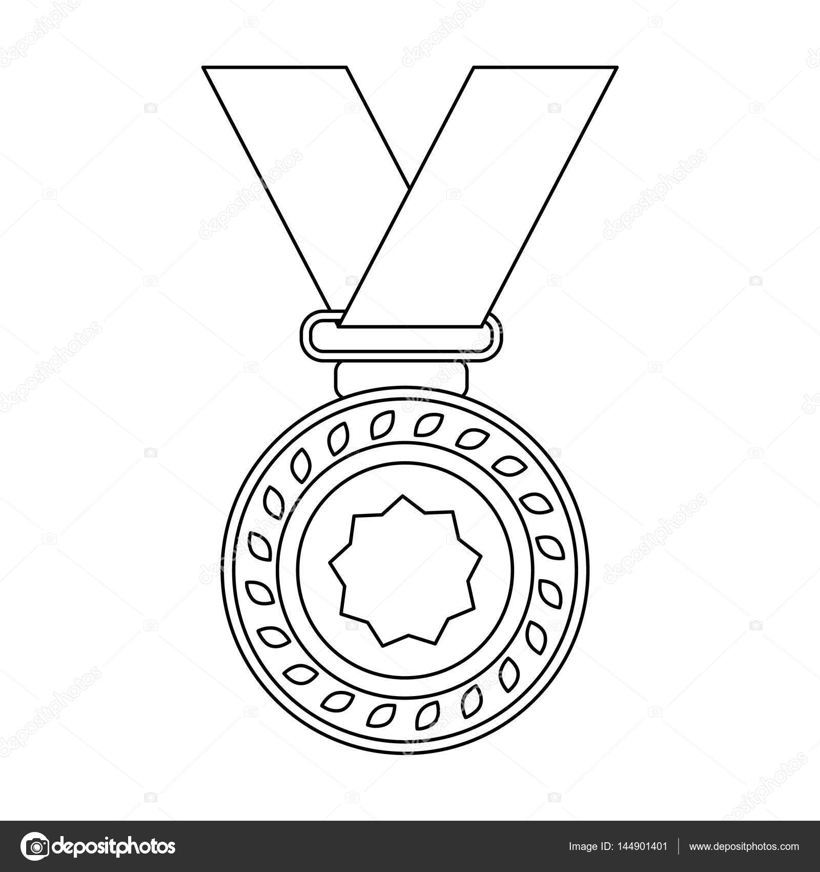 1600x1700 Silver Medal On A Red Ribbon.the Award For Second Place In