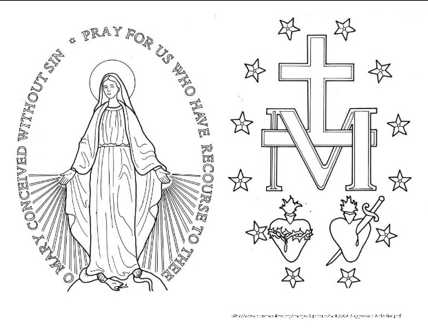 621x480 Miraculous Medal Religious Education Miraculous