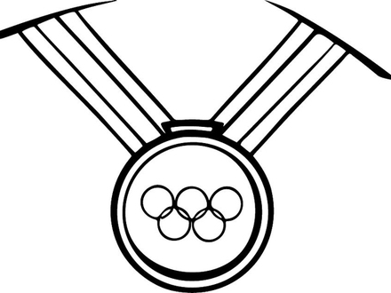 440x330 Olympic Gold Medals Colouring Pages Coloring Home, Olympic Medal