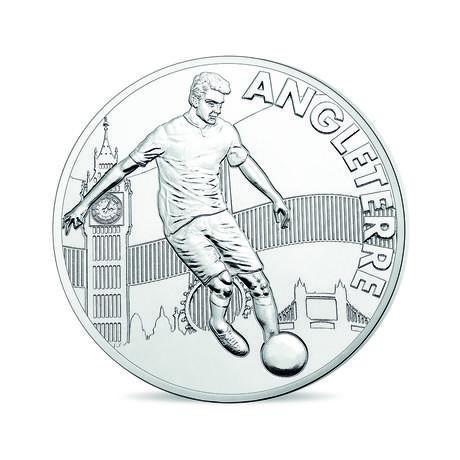 460x460 Uefa Euro 2016 Mini Medal England Monnaie De Paris