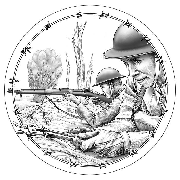 700x700 United States Mint Announces Designs For World War I Centennial