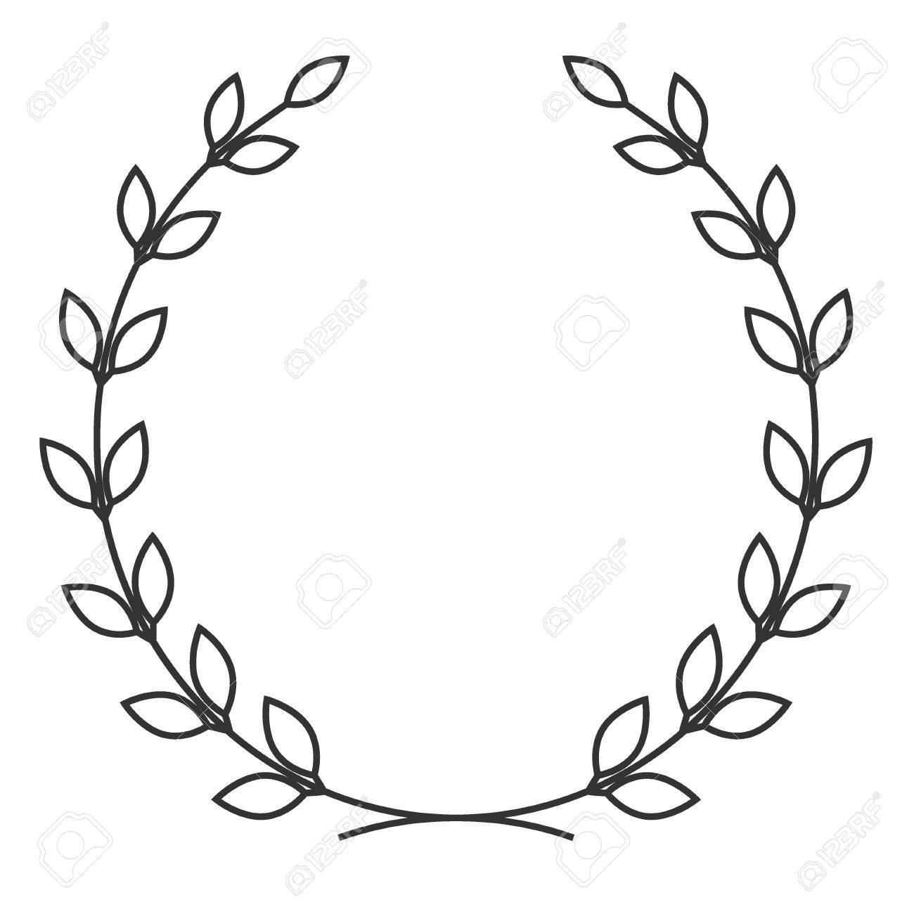 1300x1300 A Laurel Wreath Icon