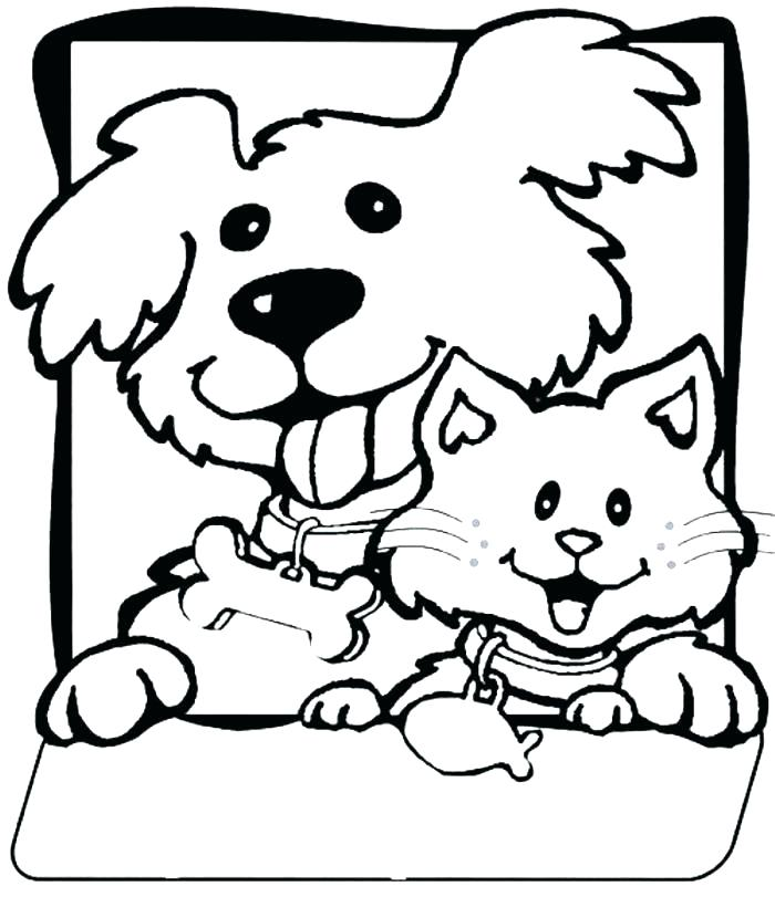 700x811 Coloring Pages Of A Cat Great Free Coloring Pages Cats Print