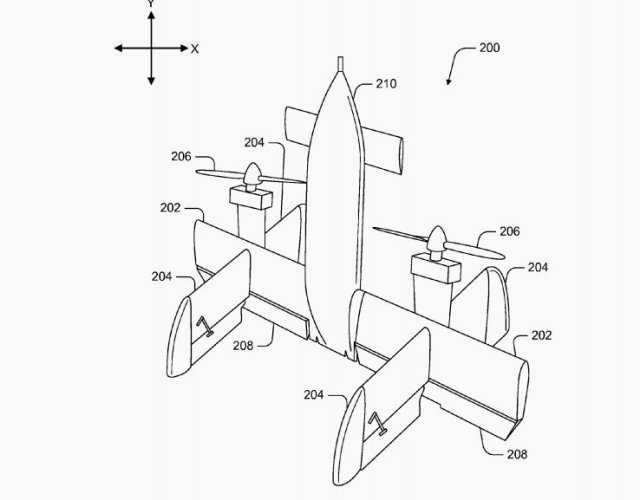 640x500 Google Patent For Uav Delivery Of Medical Equipment
