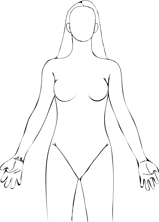 Medical Human Body Outline Drawing At Getdrawings Free For