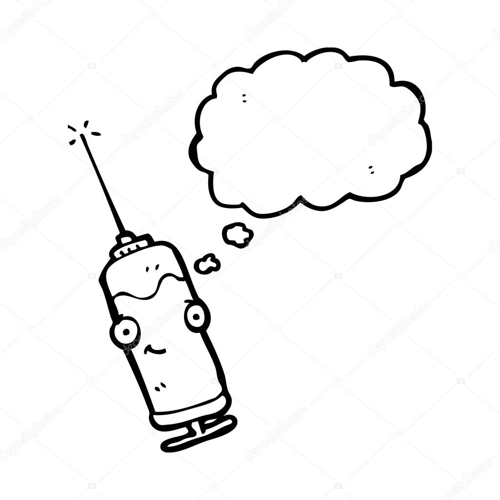 1024x1024 Cartoon Medical Needle Stock Vector Lineartestpilot