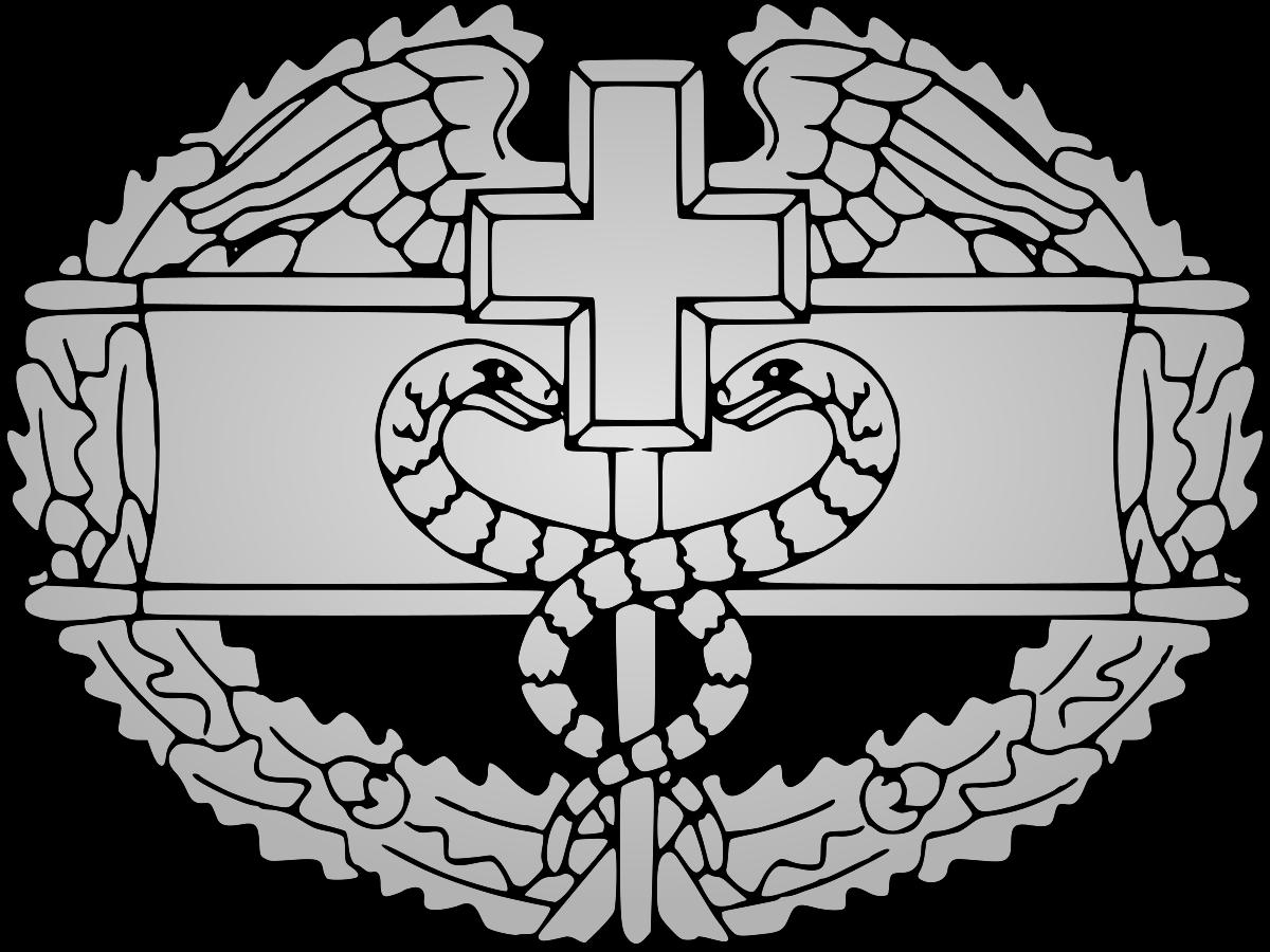 1200x900 Combat Medical Badge