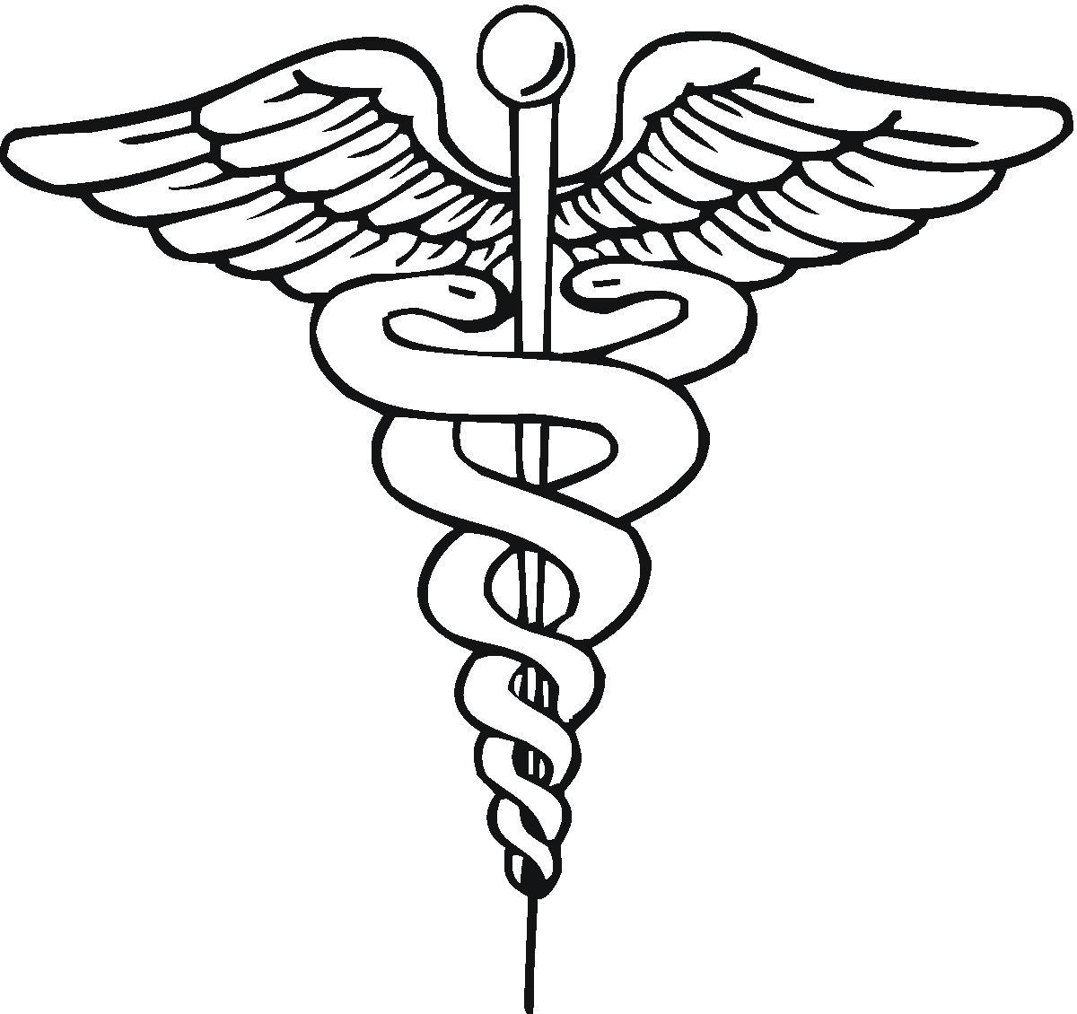 medical symbol drawing at getdrawings com free for Caduceus Medical Symbol Medical Insignia