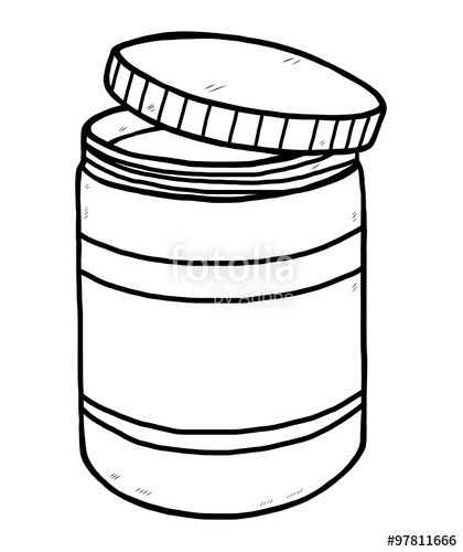 420x500 Drug Bottle Cartoon Vector And Illustration, Black And White