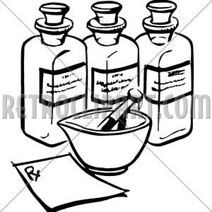 300x300 Medicine Bottles,