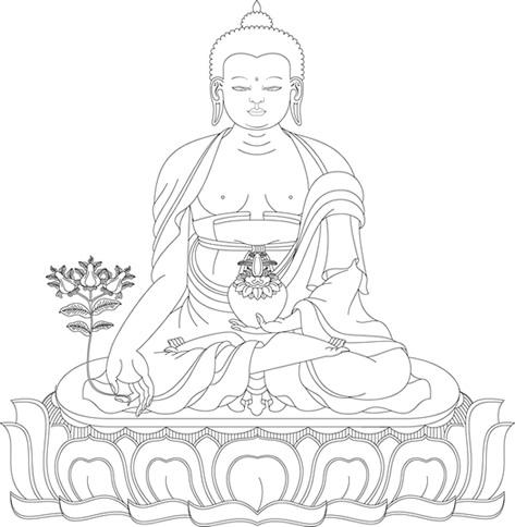 473x484 Medicine Buddha English Www.yoga Dharma