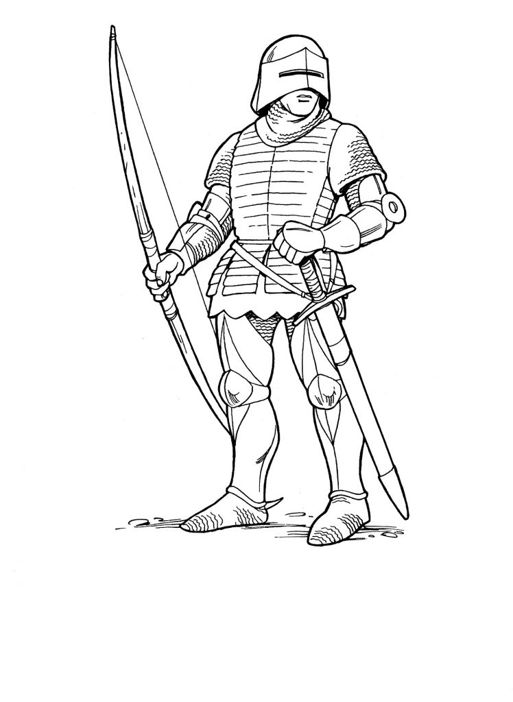 748x1024 Coloring Pages Medieval Knights Best Of Me Val Knight Coloring