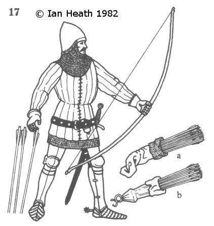 423x447 English Mounted Archer, 14th Century Medieval Armour Things