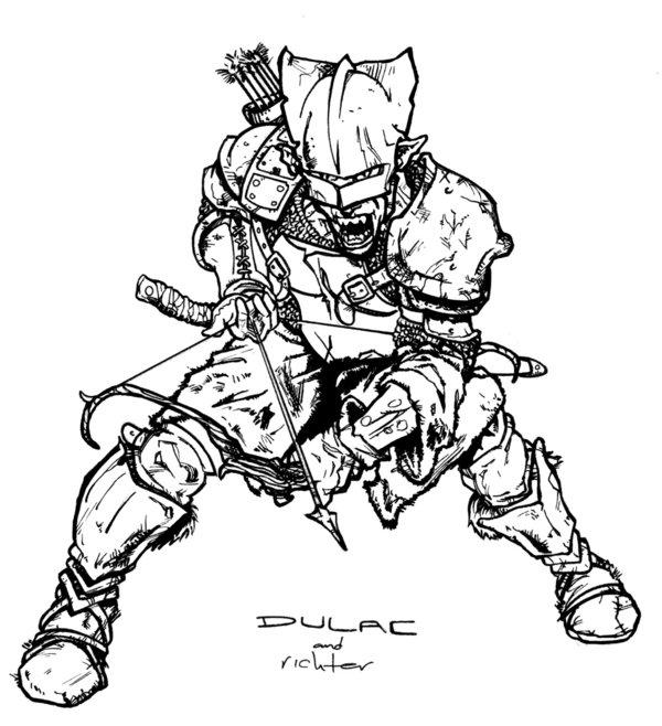 600x658 Goblin Archer By Magnuson24