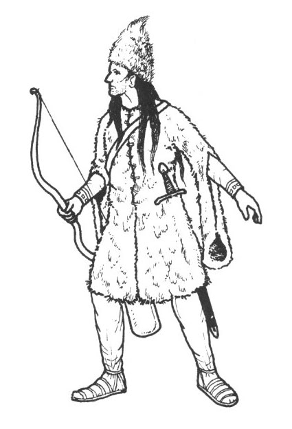 425x624 Wallachian Archer From The Battle Of Posada 1330. Ian Heath