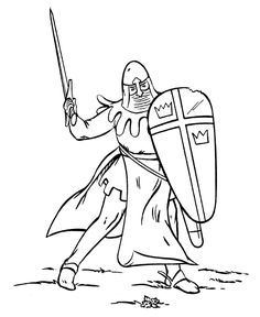 236x288 Medieval Knight Cartoon How To Draw Knights And Castles, Knight