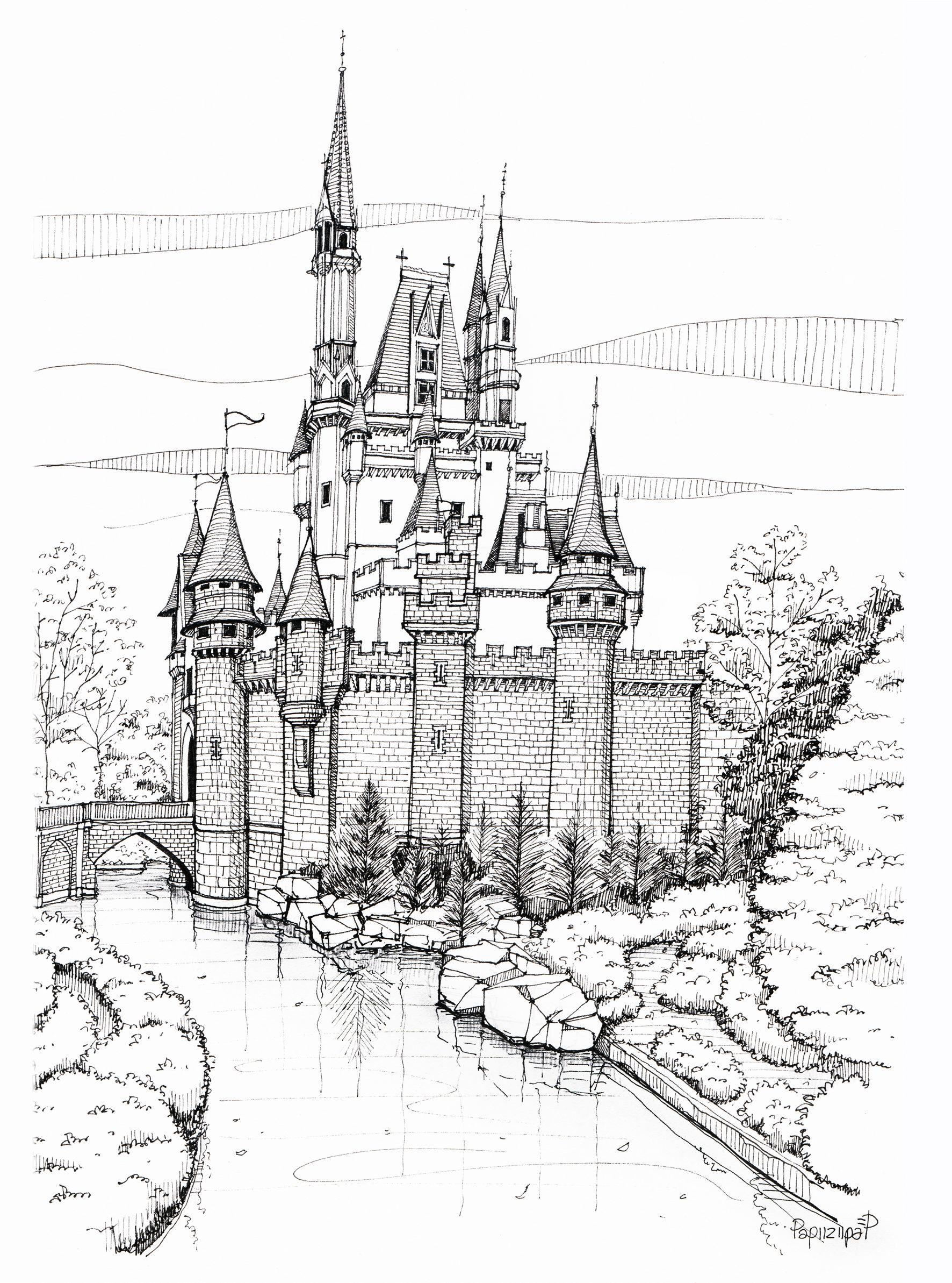 1772x2386 Cinderella Castle Papiiziipap's Cinderella Castle