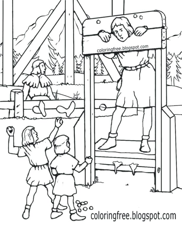 615x769 Medieval Coloring Pages Free Medieval Castle Coloring Pages