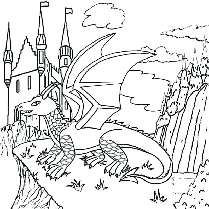 Medieval Castle Drawing at GetDrawings.com | Free for personal use ...