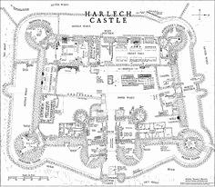 Medieval Castles Drawing