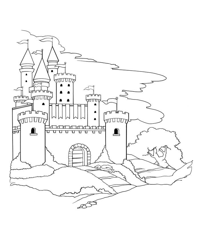 736x850 Castles On Cardboard Castle Medieval Castle