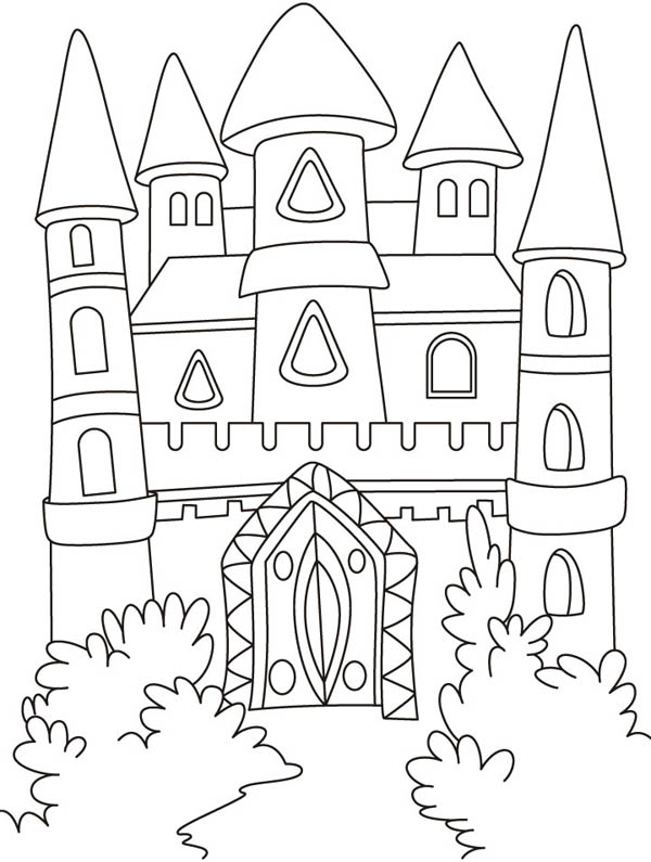 medieval castles drawing at getdrawings com free for personal use