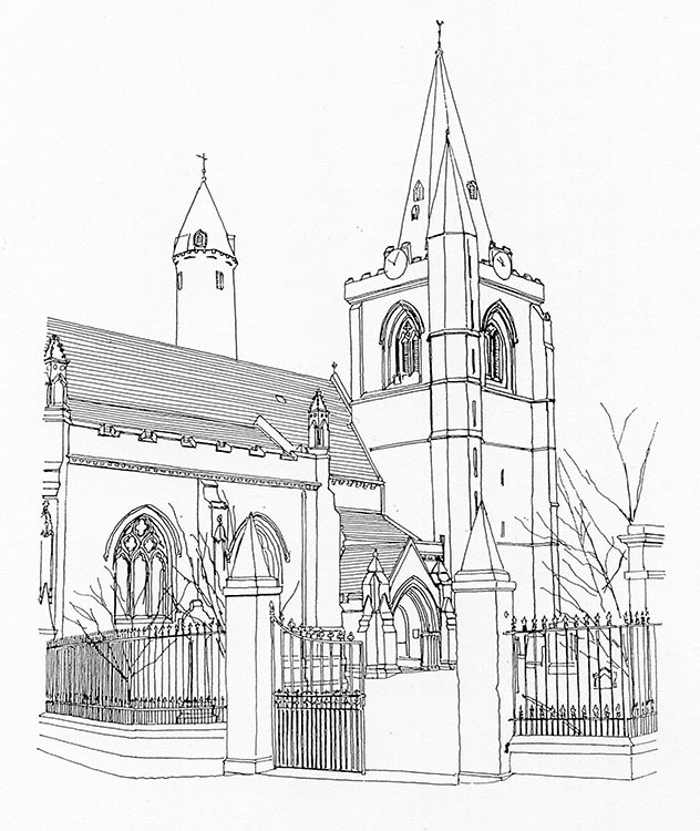 632x750 Brechin Cathedral