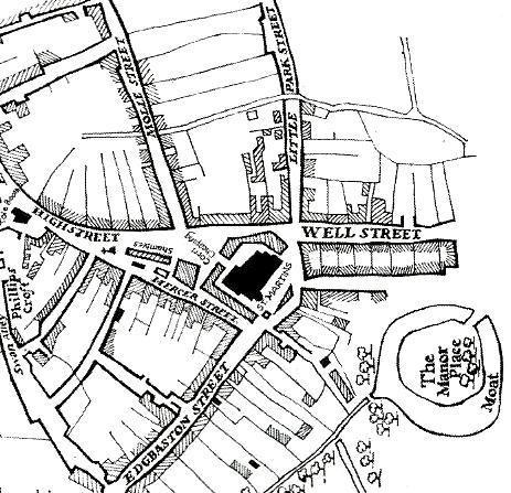 463x447 Exploring Birmingham's Medieval Streets By Sarah Hayes