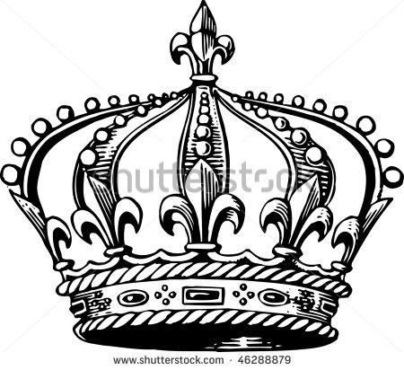 Medieval Crown Drawing